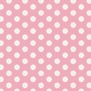 Tilda Medium Dots pink