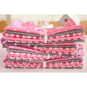 Stoffpaket Julia pink - Fat Eight