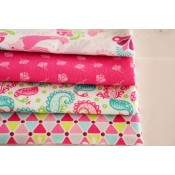 Fat Quarter Stoffpaket Riley Blake Flit and Bloom pink