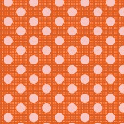 Tilda Medium Dots orange