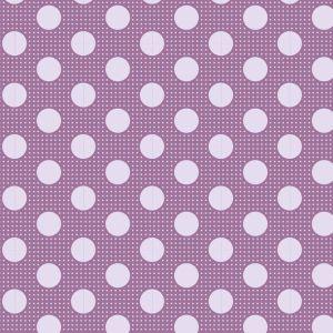Tilda Medium Dots lila
