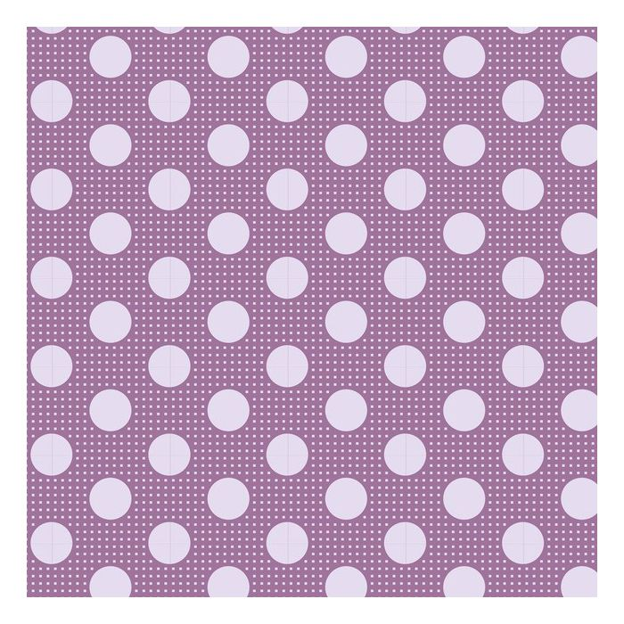Tilda Medium Dots lila