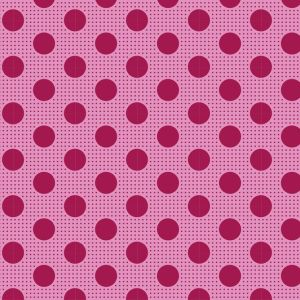 Tilda Medium Dots himbeere