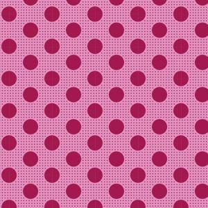 Tilda Medium Dots himbeere