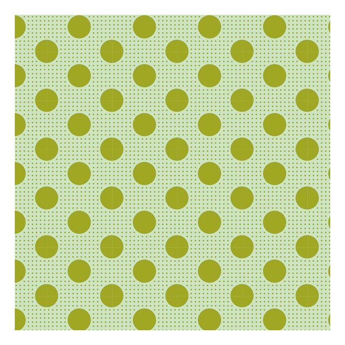 Tilda Medium Dots grün