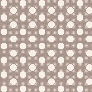 Tilda Medium Dots grau