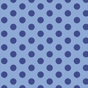 Tilda Medium Dots jeansblau