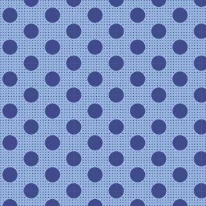 Tilda Medium Dots jeansblau