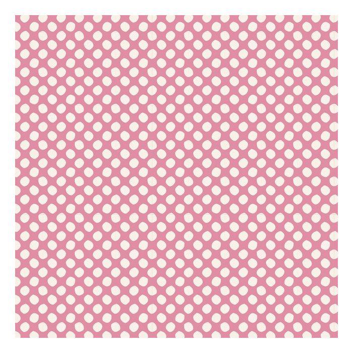 Tilda Stoff Paint Dots pink