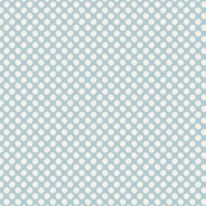 Tilda Paint Dots hellblau