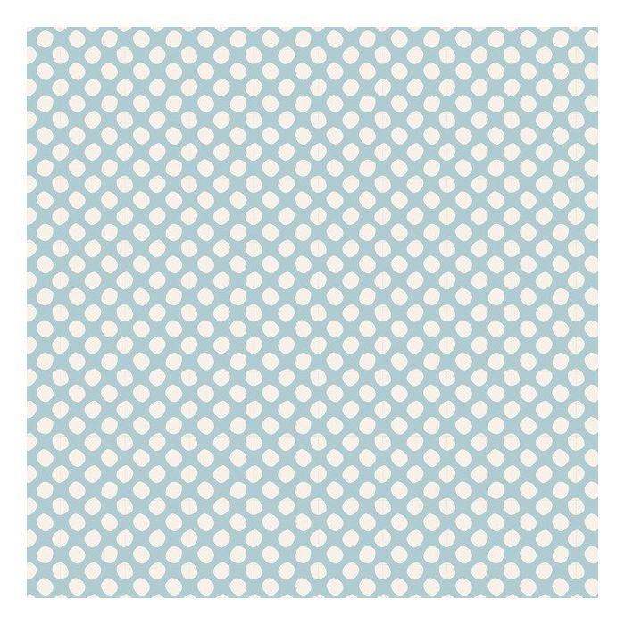Tilda Stoff Paint Dots hellblau