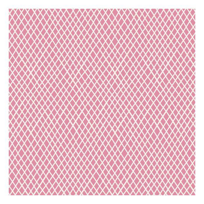 Tilda Stoff Crisscross pink