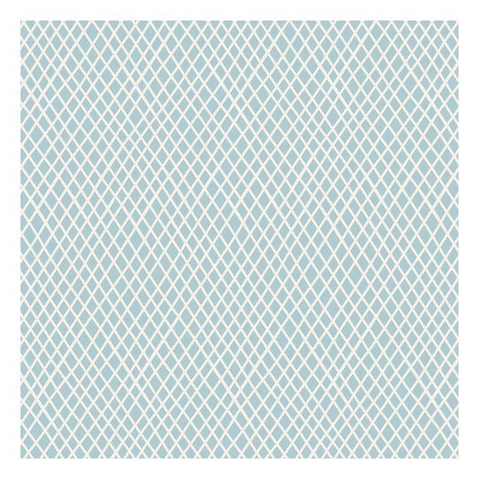 Tilda Stoff Crisscross hellblau