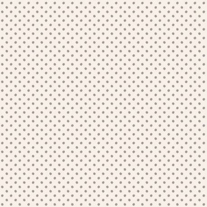 Tilda Stoff Tiny Dots grau