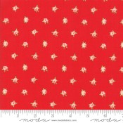 Moda Fabrics Smitten Sweetheart Red