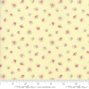 Moda Fabrics Amberley Little Rose Polka Dot Sunshine gelb