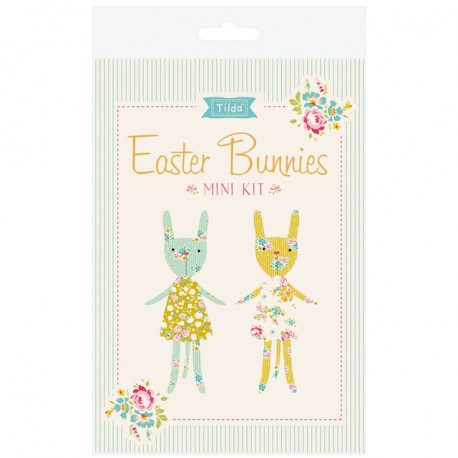 Tilda Materialset Mini Kit Easter Bunnies