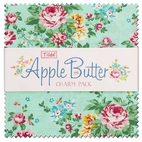 Tilda Charm Pack Apple Butter