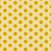 Tilda Stoff Medium Dots flachs gelb
