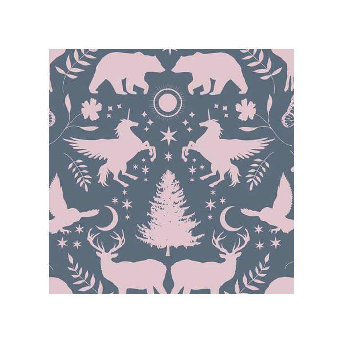 Art Gallery Fabrics Mirror Lake Rose rosa