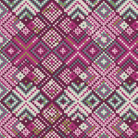 Art Gallery Fabrics Refraction Orchid beere rosa