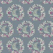 Art Gallery Fabrics Lunar Illusion Crystal grau