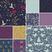 Fat Quarter Stoffpaket Mystical Land Iris Sparkle