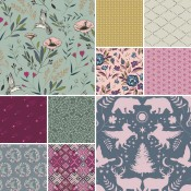 Fat Quarter Stoffpaket Mystical Land Alba Glisten
