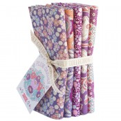 Tilda Fat Quarter Bundle Plum Garden beere