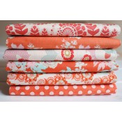 Tilda Fat Quarter Stoffpaket orange
