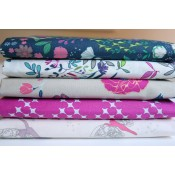 Art Gallery Fabrics Fat Quarter Stoffpaket Flower Child magenta