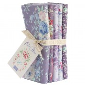 Tilda Fat Quarter Bundle Old Rose lila