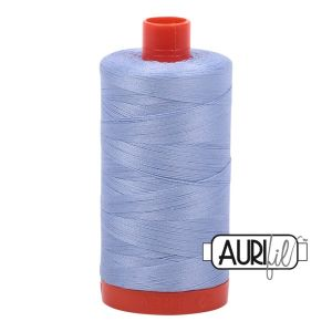 Aurifil Garn Very Light Delft Blue