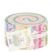 Tilda Jelly Roll Stoffrolle Happy Campers