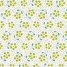 Tilda Basics Meadow grün mit Blumen und Punkten