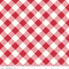 Riley Blake My Happy Place Gingham rot