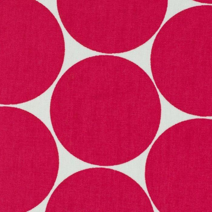 Swafing Stoff Doro pink mit großen Punkten