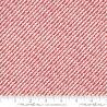 Moda Fabrics Christmas Card Scallops rot