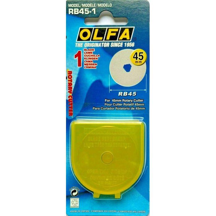 Olfa Ersatzklinge für Rollschneider 45 mm