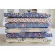 Tilda Fat Quarter Stoffpaket Old Rose und Basics blau