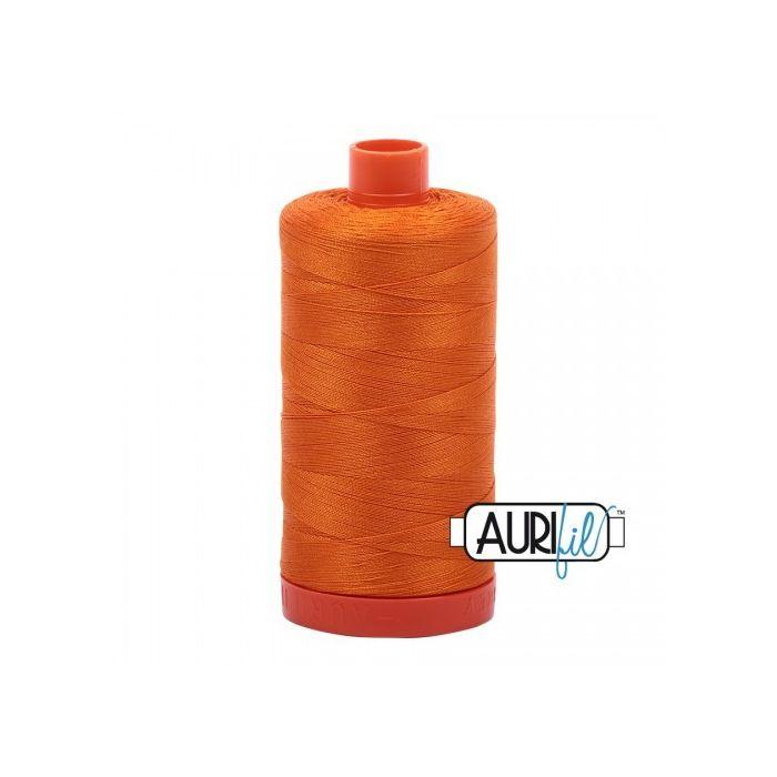 Aurifil Garn Bright Orange