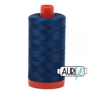 Aurifil Garn Medium Delft Blue