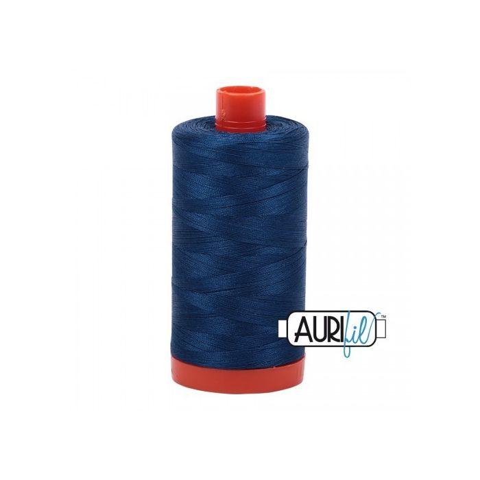 Aurifil Garn Medium Delft Blue