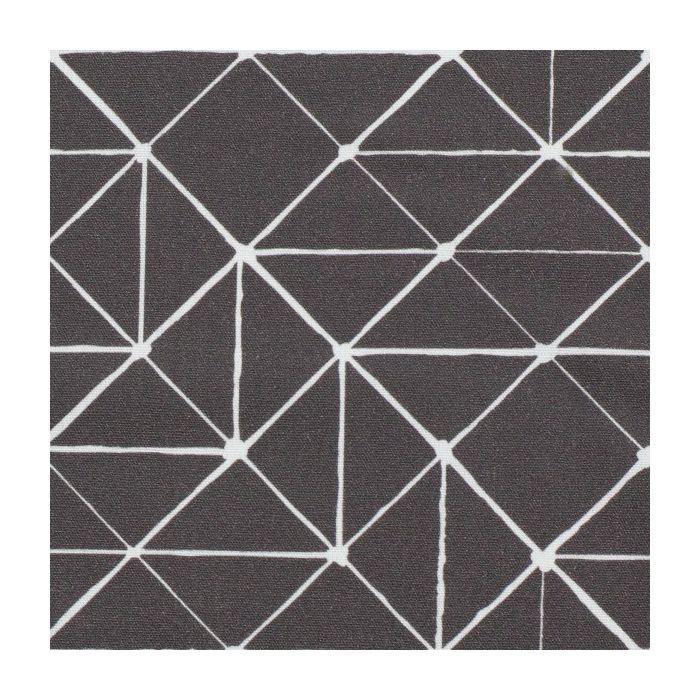 Swafing Stoff Kurt mit geometrischen Linien anthrazit
