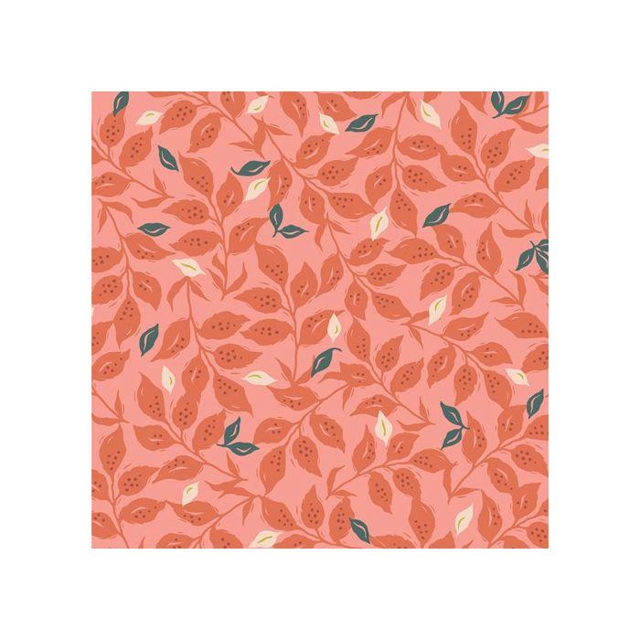 Art Gallery Fabrics Velvet Woodcut Sunset