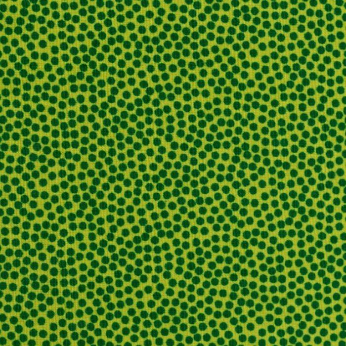 Swafing Webware Dotty grün mit Punkten