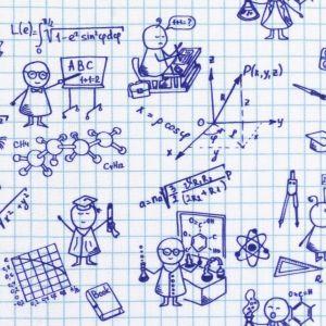 Swafing Webare Kim in weiß mit blauen Zeichnungen