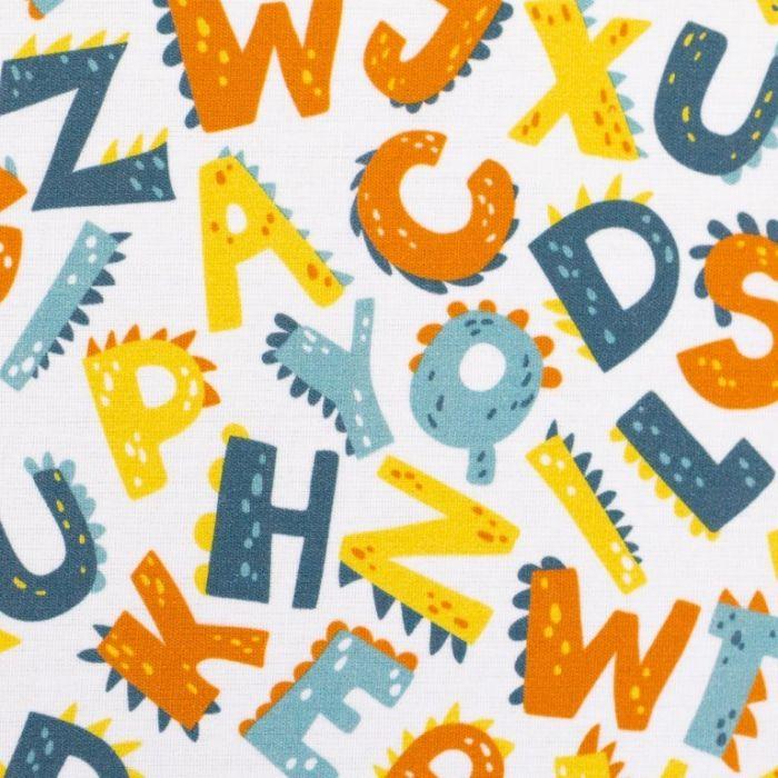 Swafing Webare Kim in weiß mit verspielten Buchstaben