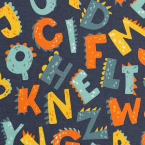 Swafing Webare Kim in dunkelblau mit verspielten Buchstaben
