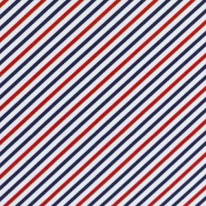 Swafing Webware Kiel mit roten und blauen Streifen